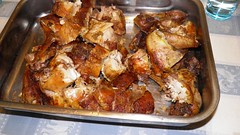meal, chicken meat, roasting, fried food, meat, hendl, food, dish, cuisine,