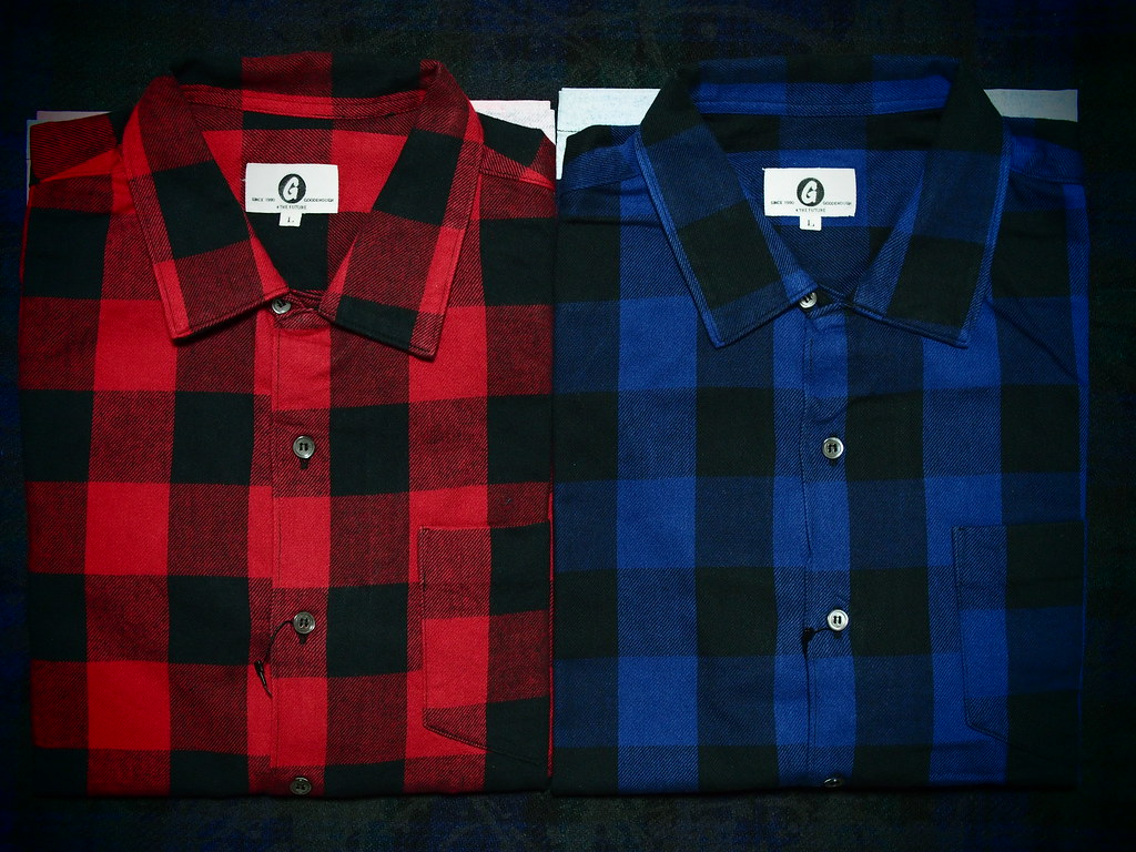 GOODENOUGH | BUFFALO FLANNEL S/S SHIRT