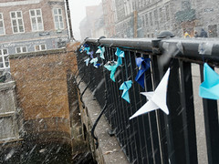 Origami in the snow