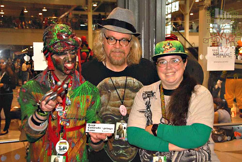 New York Comic Con 2012 :: RON ENGLISH , TOKKA, & M. Ivey