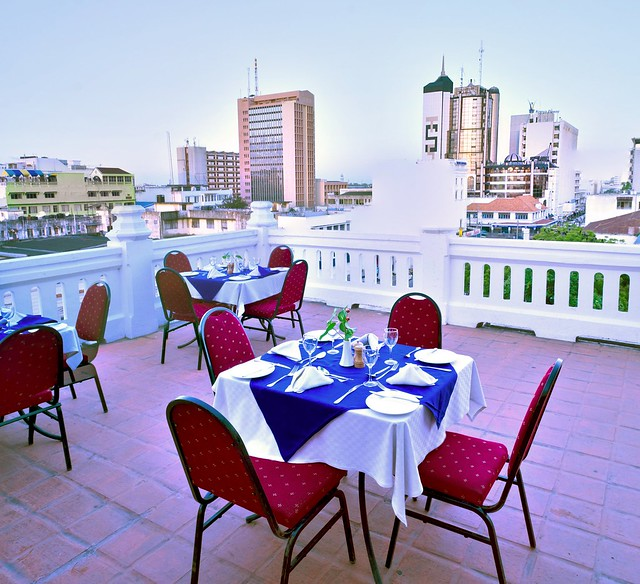 Castle Royal Mombasa - Rooftop Dining
