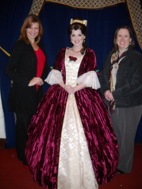 Belle in Christmas dress | The DIS Disney Discussion Forums ...