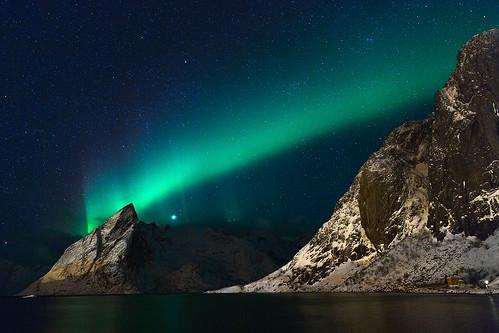Aurora over Olstind