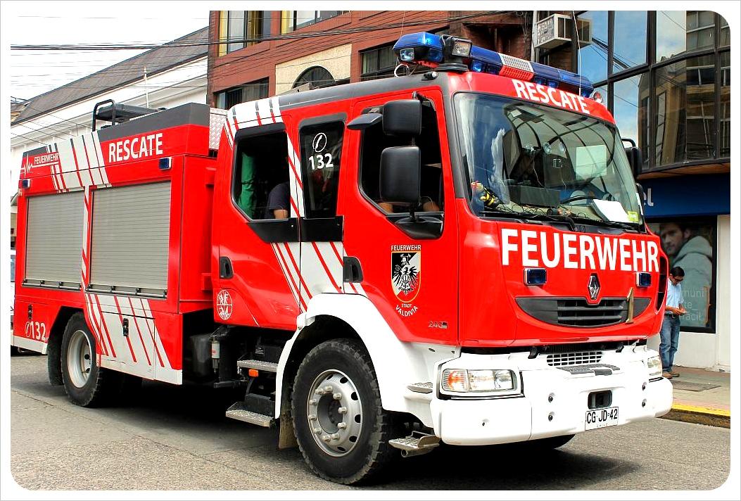 valdivia fire truck