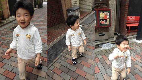 朝の散歩 2013/4/5