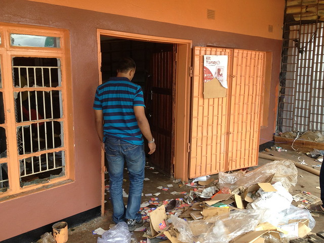 Looting of Isusya's on 4/4/13