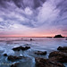 Monsoon Sunset, El Matador State Beach by Robin Black Photography