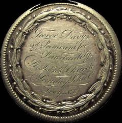 Silver Easter medal 2