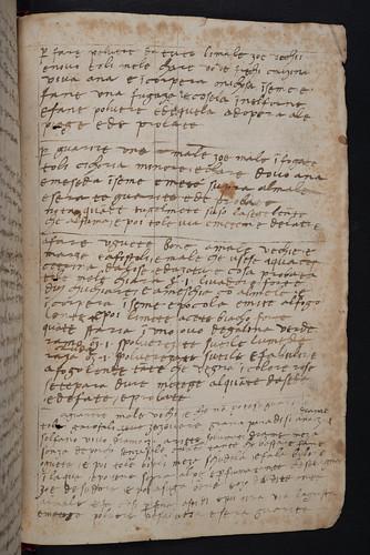 Manuscript medicinal recipes in Mesue, Johannes [pseudo-]: Opera medicinalia [Italian]