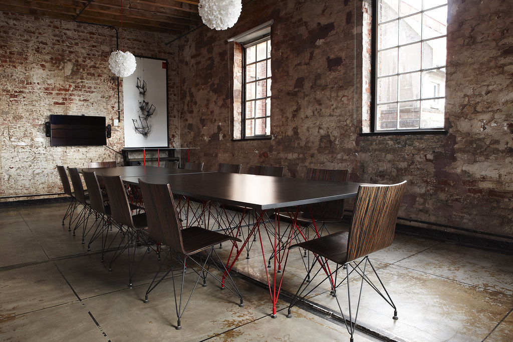 Google Umbono - Boardroom, Designed by Haldane Martin, Photo Micky Hoyle