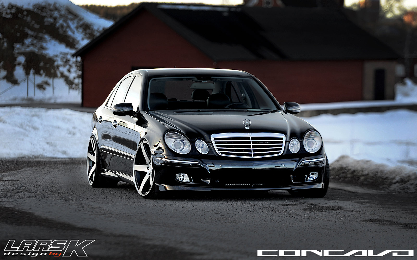 Mercedes Benz E420 On 20x10 5 Cw 5 By Larskdesign In Sweden
