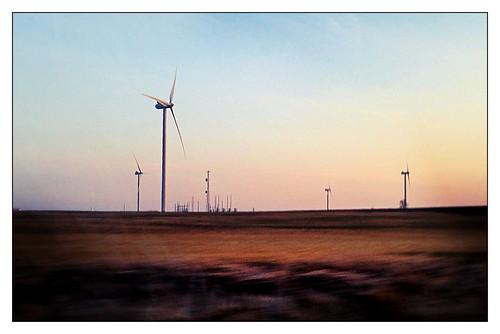 sunset wisconsin energy wind dusk farm cambria turbine iphone