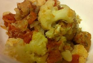 Sausage Cauliflower Casserole