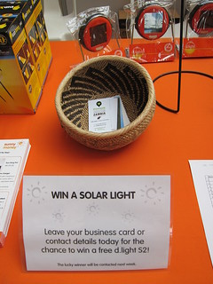 Information about the solar lights we sell