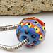 Charm bead : Mandarin