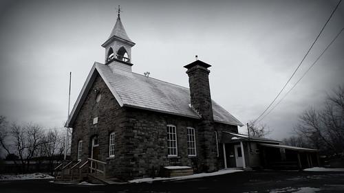 Heritage building on Slack Road