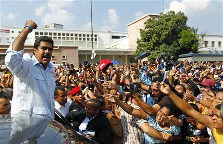 Nicolas Maduro has won the elections in the Bolivarian Republic of Venezuela. Maduro was designated as successor to the late President Hugo Chavez Frias. by Pan-African News Wire File Photos