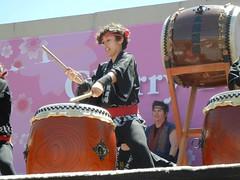 SF Taiko at Cherry Blossom Festival
