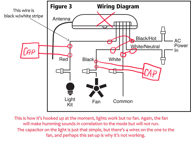 8654295192_1279ee6520_c puzzling challenge for those in the know, mystery voltage when ac ceiling fan 2 wire capacitor wiring diagram at readyjetset.co