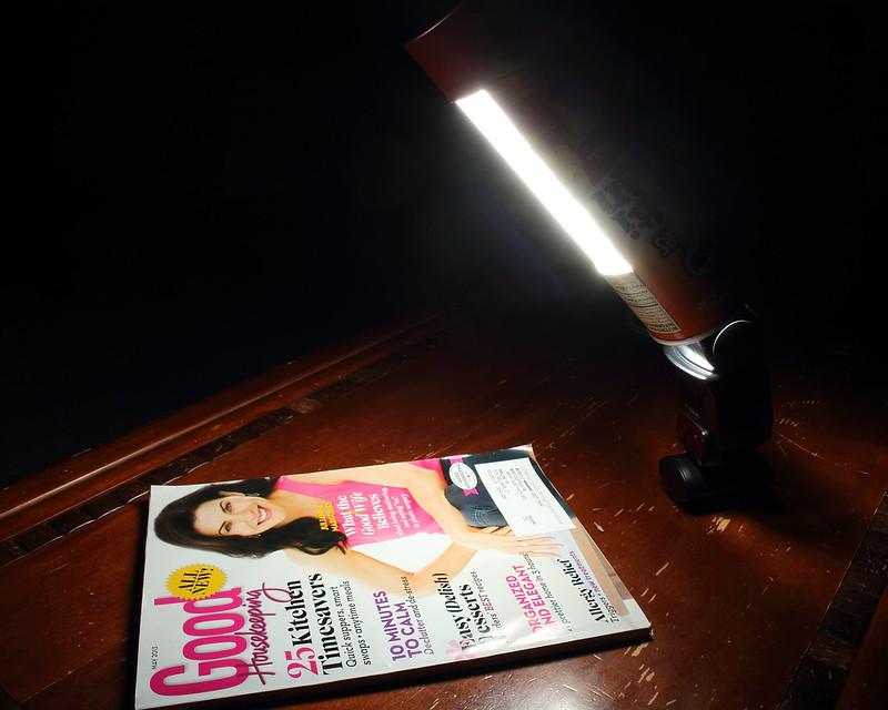 DIY: Pringles Can Strip Light (Second Test Image)