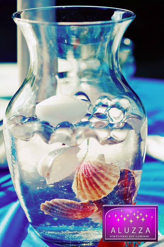 hidrogel en perlas para decoracion de boda o armado de centros de mesa aluzza