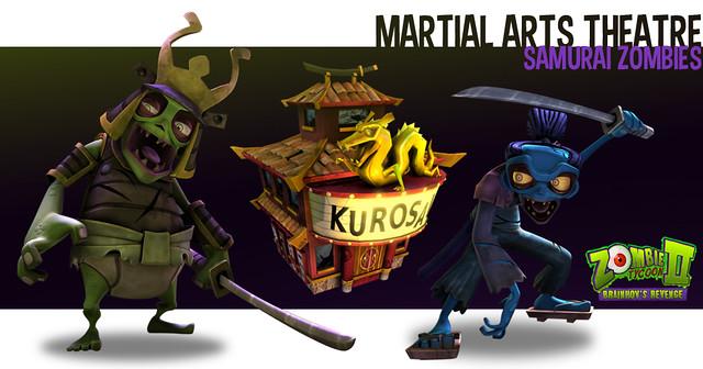 Zombie Tycoon 2: Samurai Zombies