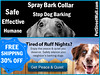 Safe and Effective Spray Bark Collar