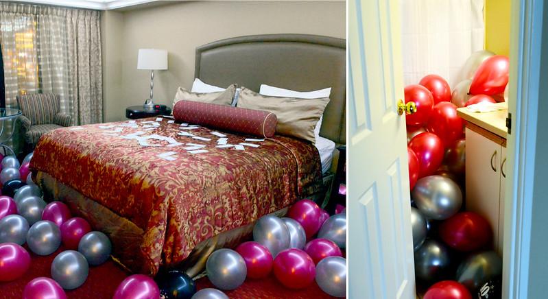Vegas Room & Balloons