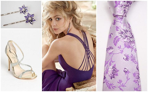 {Color Inspiration} Purple Bridesmaid's Style by Nina Renee Designs