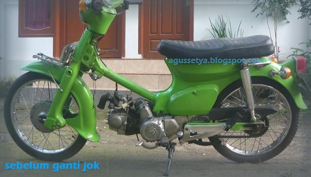 Ganti Jok Honda C70