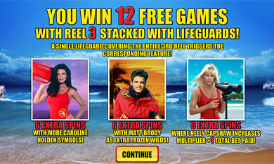 free Baywatch Free Spins Feature