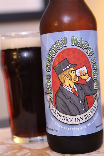 Woodstock Inn Brewery Kanc County Maple Porter
