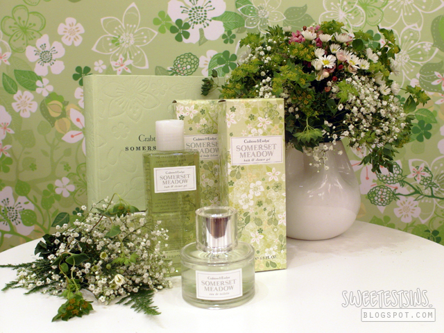 crabtree & evelyn somerset meadow collection launch 1