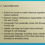 Rule Amendments - Boating Restricted Area Zones