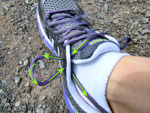 Shoe Lace Tracking