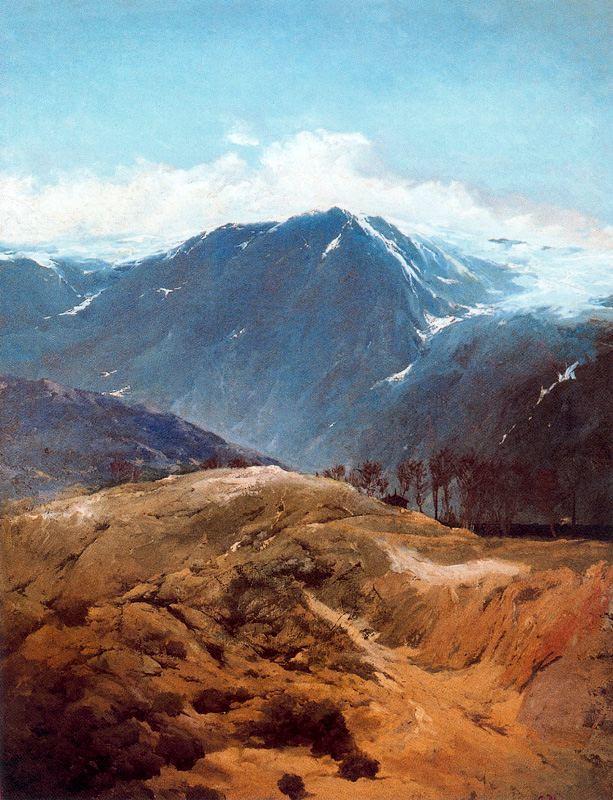 4. Sierra de Guadarrama. Ovidio Murguia de Castro. Óleo sobre lienzo, 1898