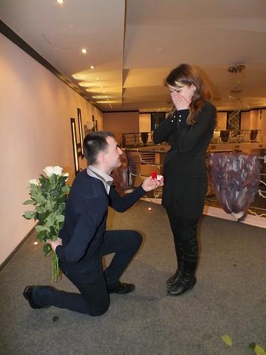 """Concurs """"Cea mai originala cerere în căsătorie!!!"""" > Alina & Igor"""