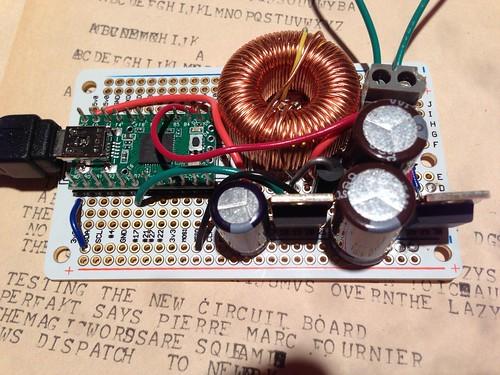 Teletype Model 15 USB interface board