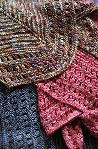 Knitting Grafting Underarm Stitches : Grafting underarm stitches with no holes laura chau