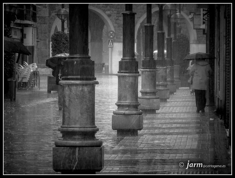Lluvia en Cartagena
