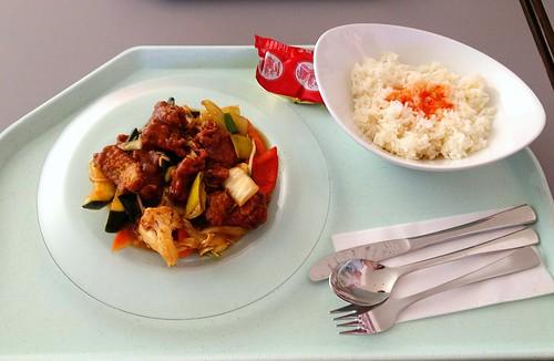 Seelachs in Hoi-Sin-Sauce / Coalfish in hoi sin sauce