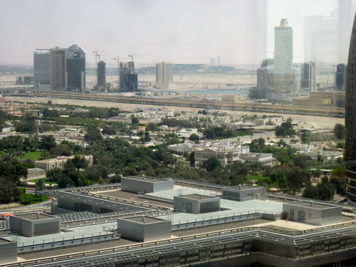 New View of Dubai From Desk