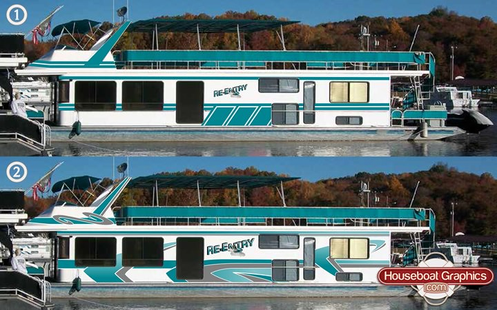Interesting Flickr Photos Tagged Houseboatgraphics Picssr - Houseboats vinyl decals