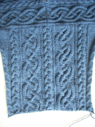 St. Brigid in progress: shoulder join by Asplund