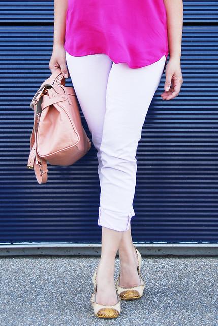 pink jbrand - chanel - kors flats - mulberry alexa4