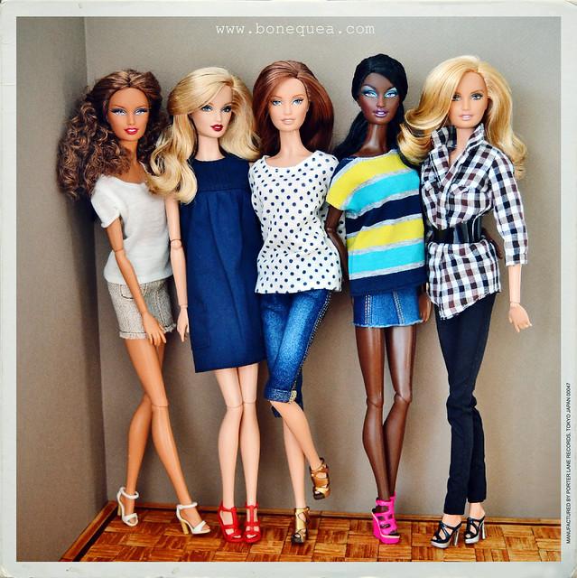 Barbie Lara headmold
