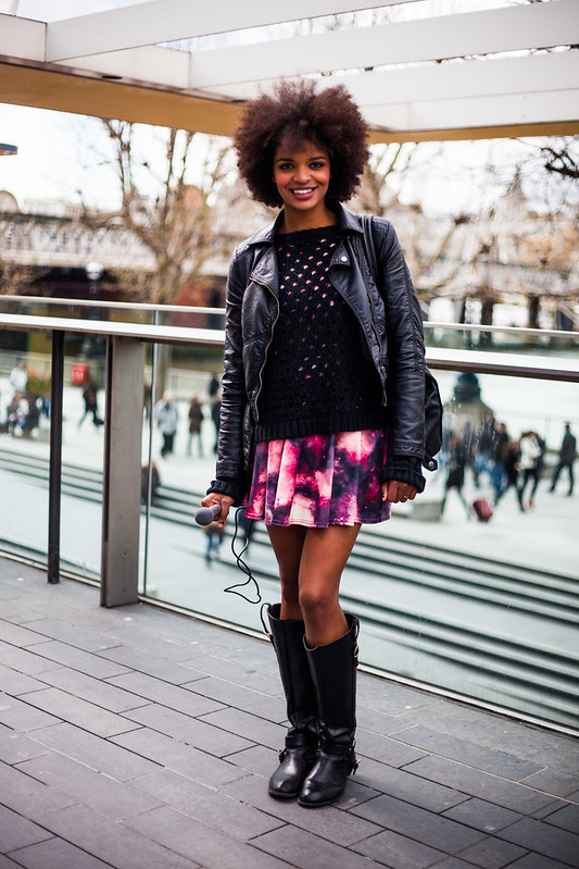 Street Style - Rissikat Oyebade, Vogue Festival
