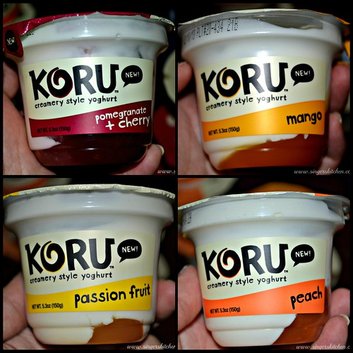 Koru yoghurt flavors