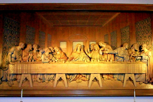 Last Supper Woodcarving - The Upper Room - Nashville