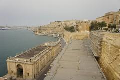 "Jardins ""Lower Barrakka"" em Valeta, Malta"